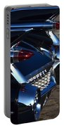 Classic Black Cadillac Portable Battery Charger
