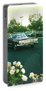 Classic Car Family Outing Portable Battery Charger