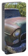 Classic Chevy With Rust Portable Battery Charger