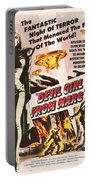 Classic Devil Girl From Mars Poster Portable Battery Charger