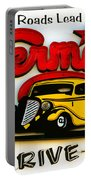 Classic Drive In Sign Portable Battery Charger