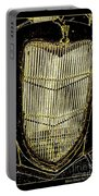 Classic Gold Grill Portable Battery Charger