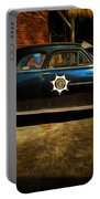 Classic Police Car Portable Battery Charger