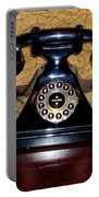 Classic Rotary Dial Telephone Portable Battery Charger