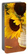 Classic Sunflowers Portable Battery Charger