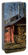 Classic Vermont Maple Sugar Shack Portable Battery Charger