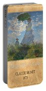 Claude Monet 1 Portable Battery Charger