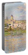 Claude Monet Vetheuil 1879 Portable Battery Charger