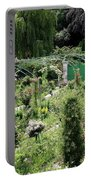 Claude Mounets Green Garden Gate Portable Battery Charger
