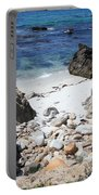 Clear California Cove Portable Battery Charger