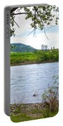 Clearwater River In Nez Perce National Historical Park-id  Portable Battery Charger