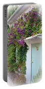Clematis Around The Door Portable Battery Charger