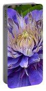 Clematis Blue Portable Battery Charger