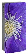 Clematis Dramatis Portable Battery Charger