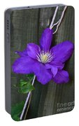 Clematis On A String Portable Battery Charger