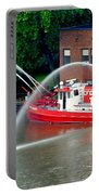 Cleveland Firehouse Portable Battery Charger