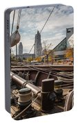 Cleveland From The Deck Of The Peacemaker Portable Battery Charger