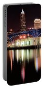 Cleveland Panoramic Reflection Portable Battery Charger