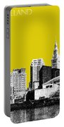 Cleveland Skyline 3 - Mustard Portable Battery Charger