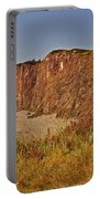 Cliffs Of Cape D'or From A Promontory Over Advocate Bay-ns Portable Battery Charger
