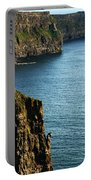 Cliffs Of Moher Clare Ireland Portable Battery Charger
