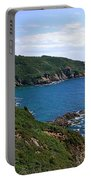 Cliffs On Isle Of Guernsey Portable Battery Charger
