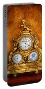 Clockmaker - Anyone Have The Time Portable Battery Charger by Mike Savad