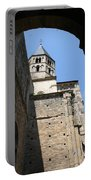 Cloister Cluny Church Steeple Portable Battery Charger