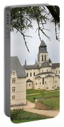 Cloister Fontevraud View - France Portable Battery Charger
