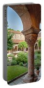 Cloisters Courtyard Portable Battery Charger