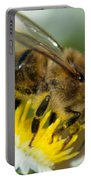 Close Encounter Of The Bee Kind Portable Battery Charger