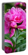 Close Up Flower Blooming Portable Battery Charger