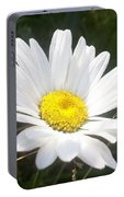 Close Up Of A Margarite Daisy Flower Portable Battery Charger