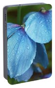 Close-up Of Himalayan Poppy Flowers Portable Battery Charger