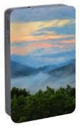 Closer To Heaven In The Blue Ridge Mountains Portable Battery Charger
