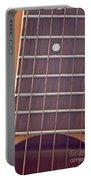 Closeup Of Guitar Art Prints Portable Battery Charger