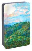 Cloud Dance On The Blue Ridge Portable Battery Charger