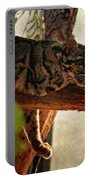 Clouded Leopard II Painted Version Portable Battery Charger