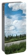 Clouds Above Taylor Highway To Chicken-ak Portable Battery Charger