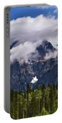 Clouds Around Mountains, Robson Portable Battery Charger