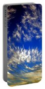 Clouds At Sunset Portable Battery Charger