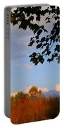 Clouds Clearing Portable Battery Charger