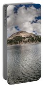 Clouds Form Over Lake Helen Portable Battery Charger
