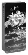 Clouds Of Freycinet Bw Portable Battery Charger