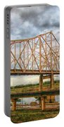 Clouds Over King Bridge Portable Battery Charger