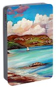 Clouds Over Paradise Portable Battery Charger