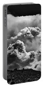 Clouds Over Santa Fe Portable Battery Charger
