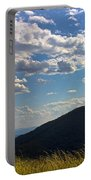 Clouds Over The Mountain Portable Battery Charger