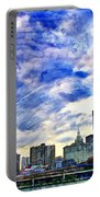 Clouds Van Gogh Portable Battery Charger