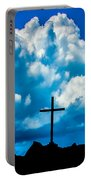 Cloudy Cross Portable Battery Charger
